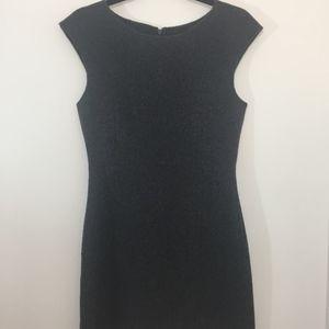 Theory Dress, Size 6, Charcoal Grey, Wool